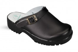 Women's and Men's Julex clogs 3132G black