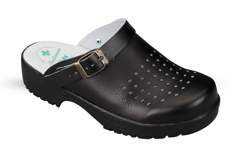 Women's and Men's Anatomico clogs 3132 black